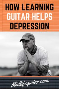How Learning Guitar Helps Depression