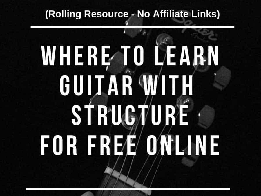 Where To Learn Guitar For Free (100% Free)