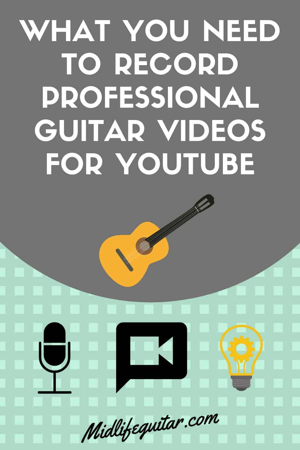 What You Need To Record Guitar Videos For Youtube
