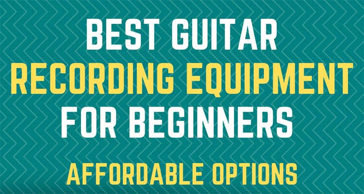 Best Guitar Recording Equipment For Beginners - small