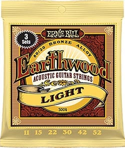 Ernieball Earthwood Light