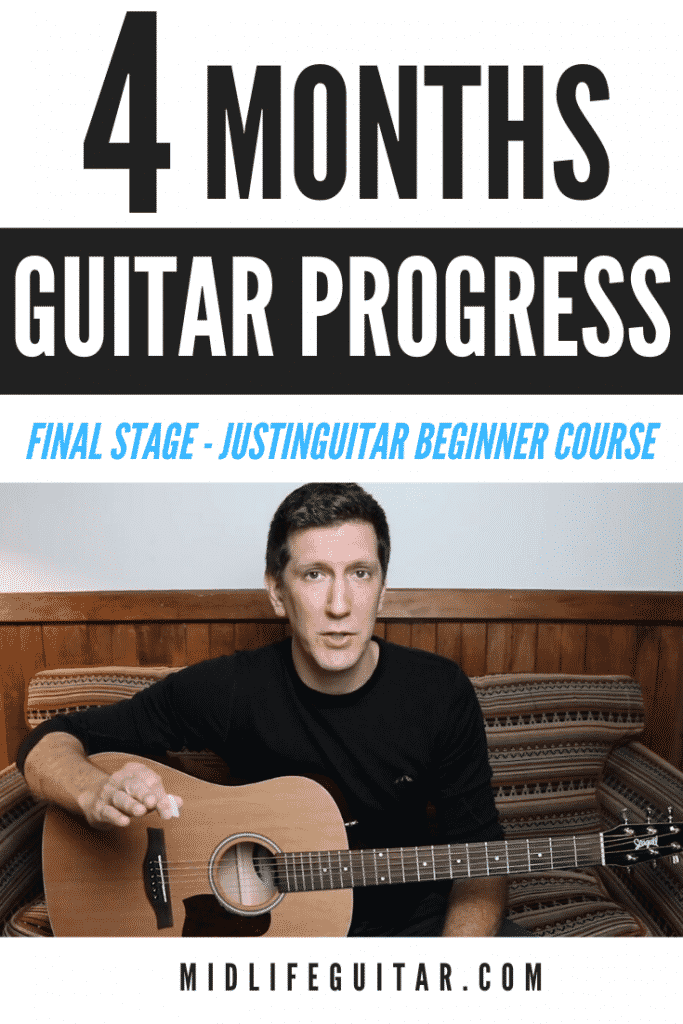 4 Months Guitar Progress