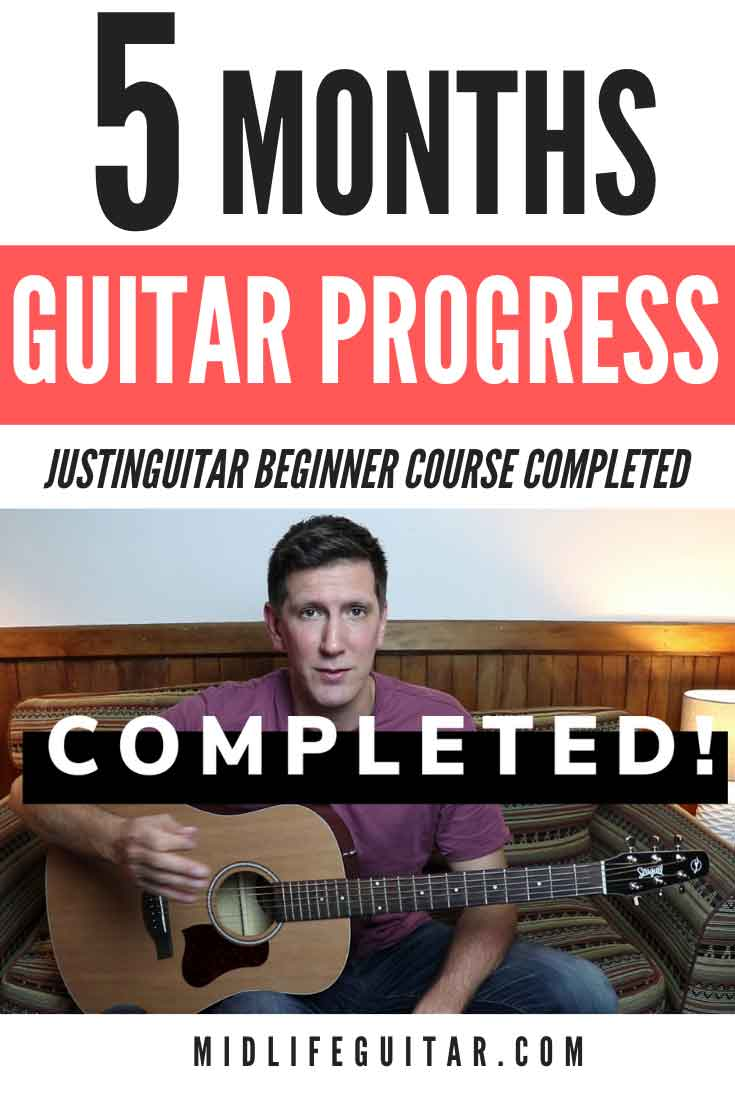 5 Month Guitar Progress