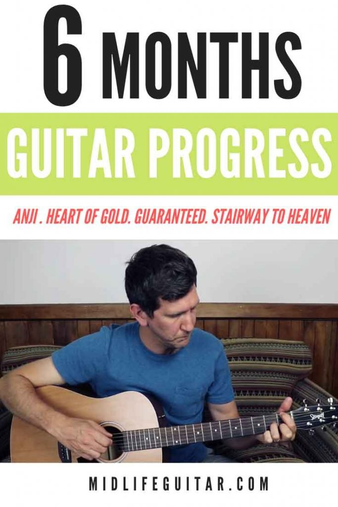 6 Months Guitar Progress