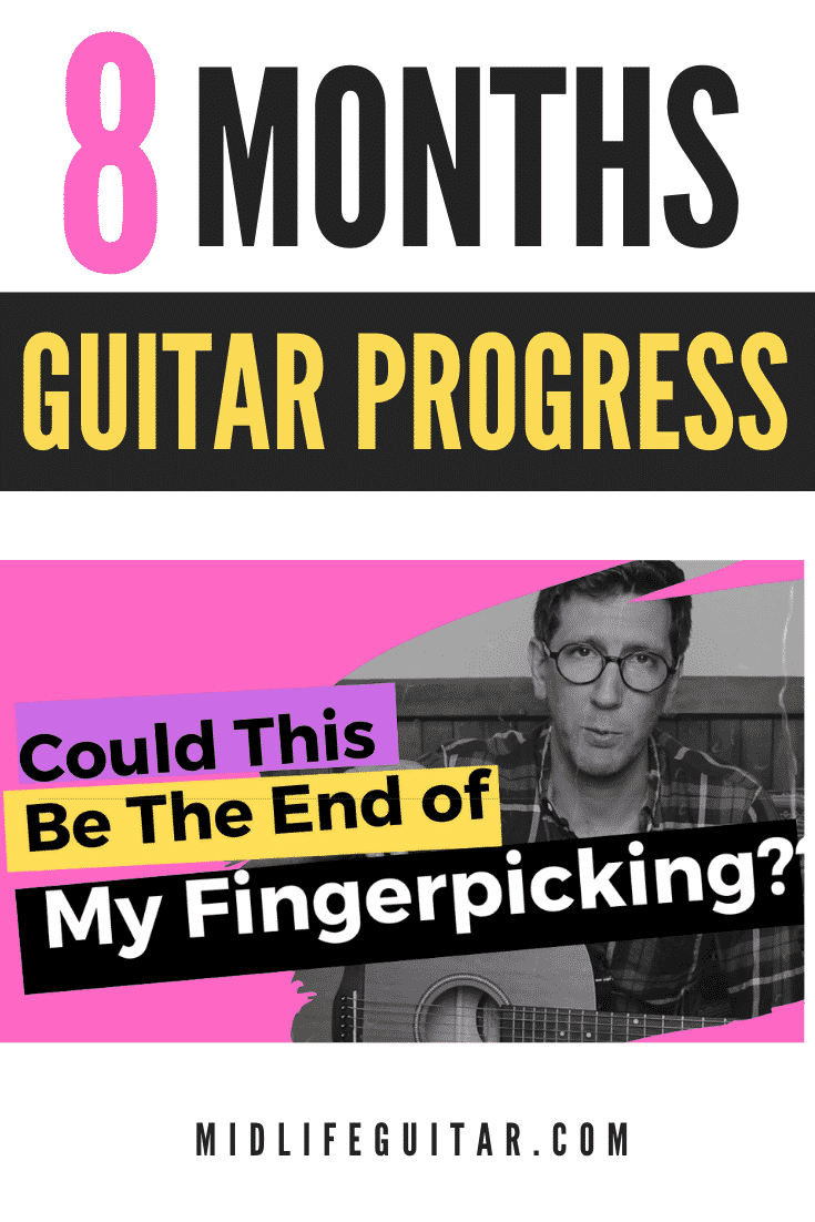 8 Months Guitar Progress