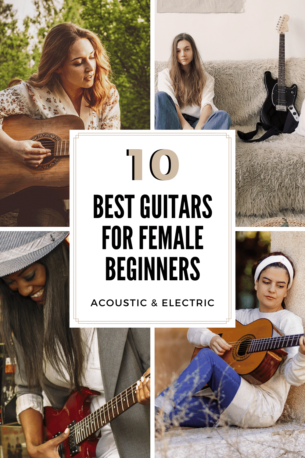 Best Guitars For Female Beginners