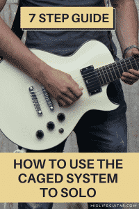 How To Use The CAGED System to Solo