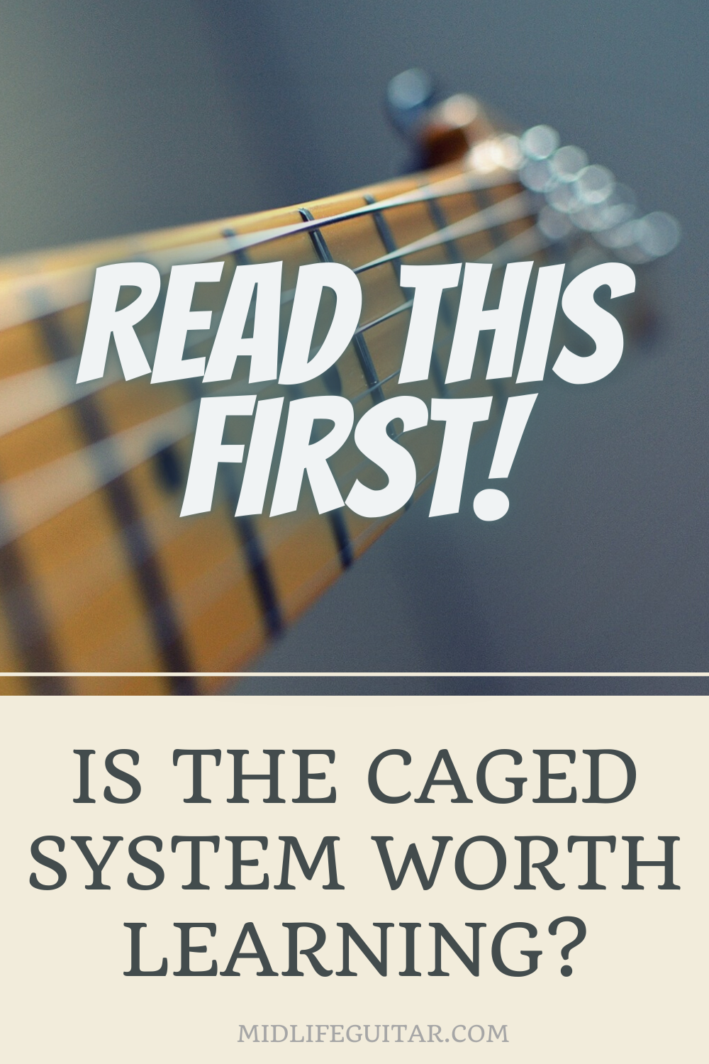 Is The CAGED System Worth Learning?