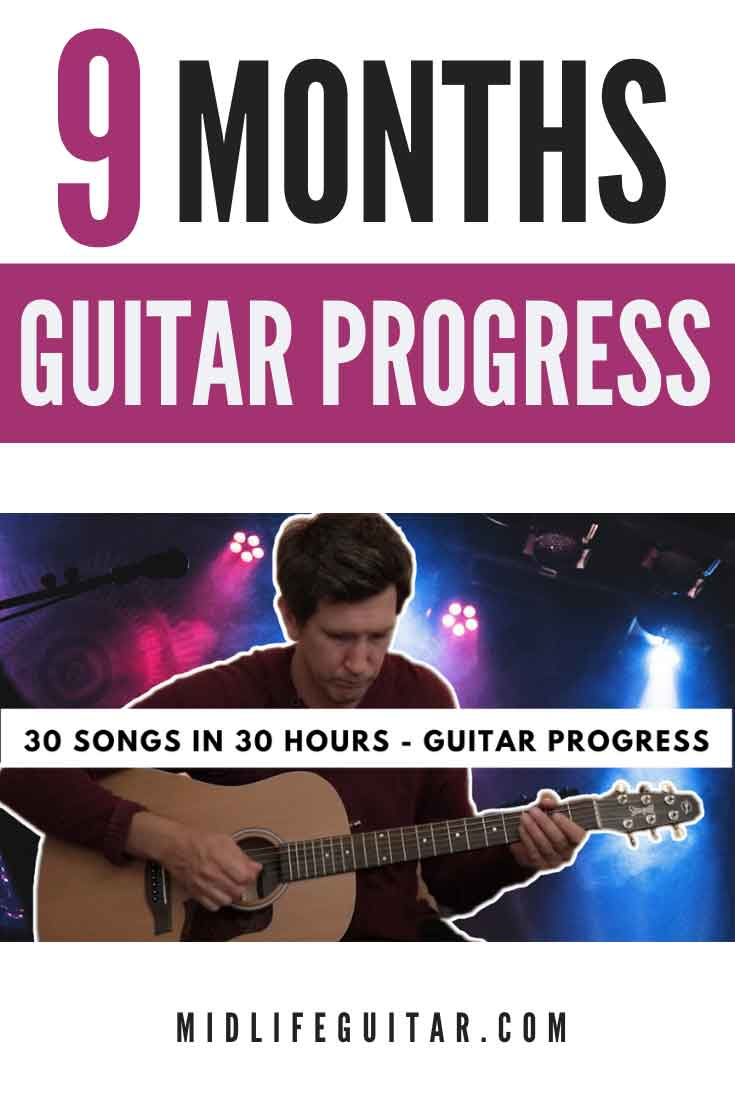 9 Month Guitar Progress