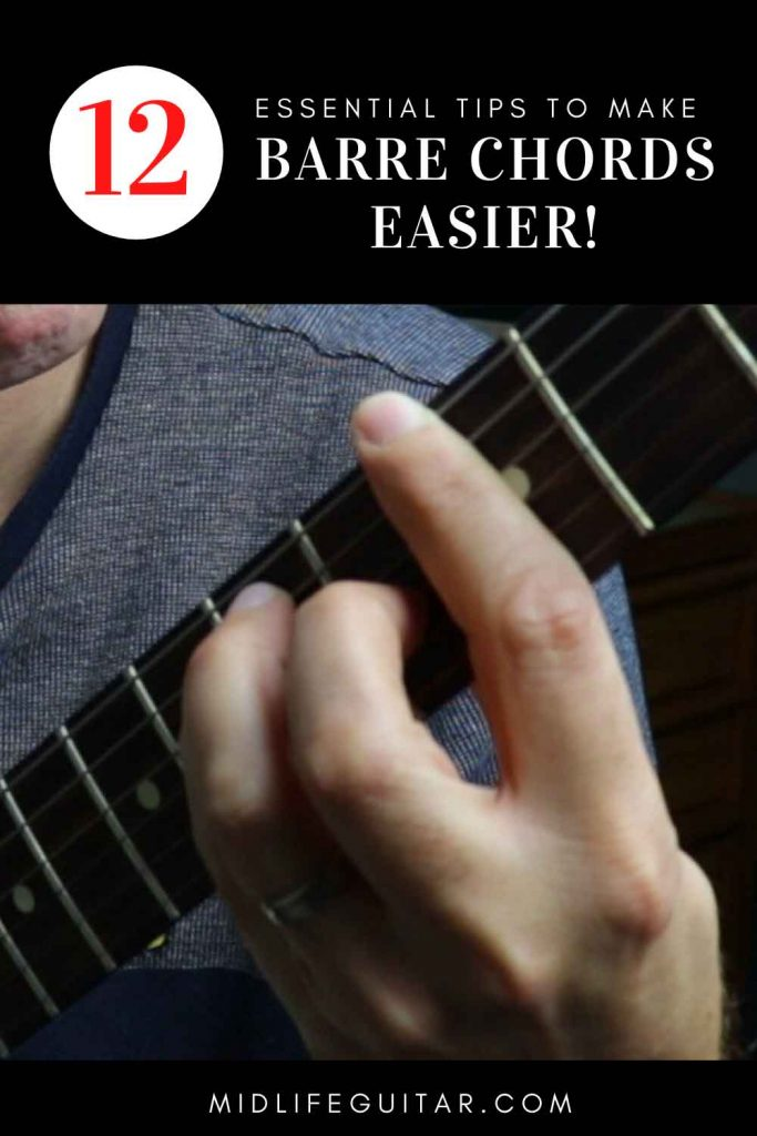How To Make Barre Chords Easier