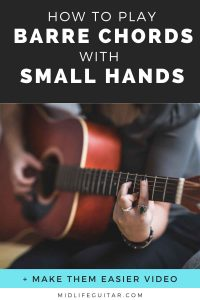 How To Play Barre Chords With Small Hands