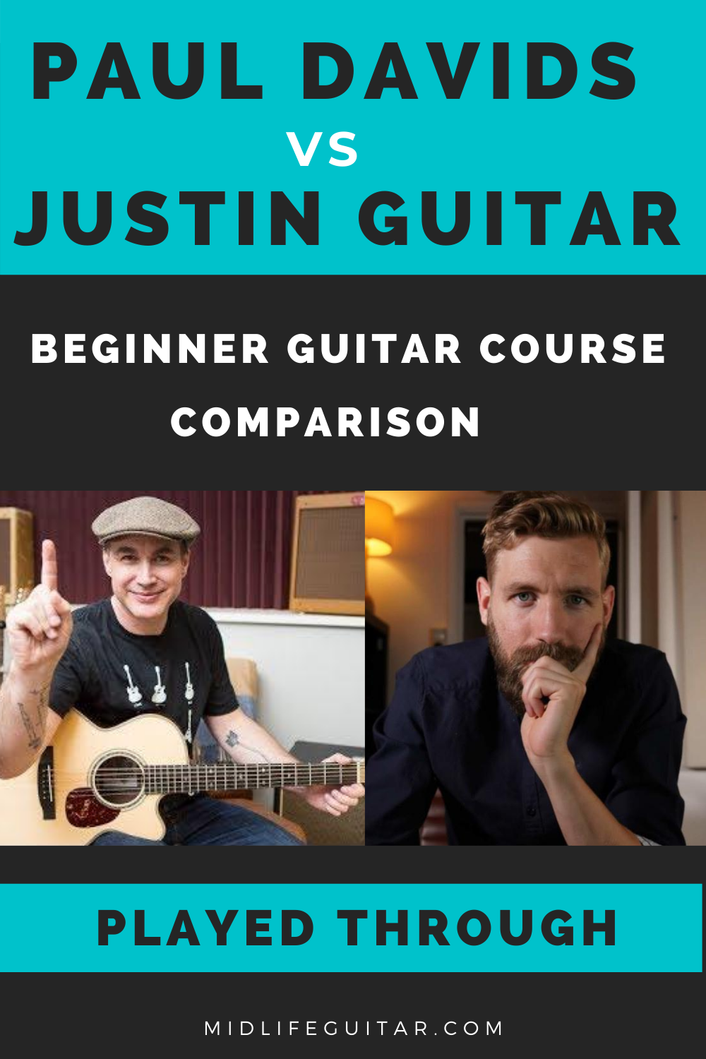 Learn, Practice, Play vs Justin Guitar