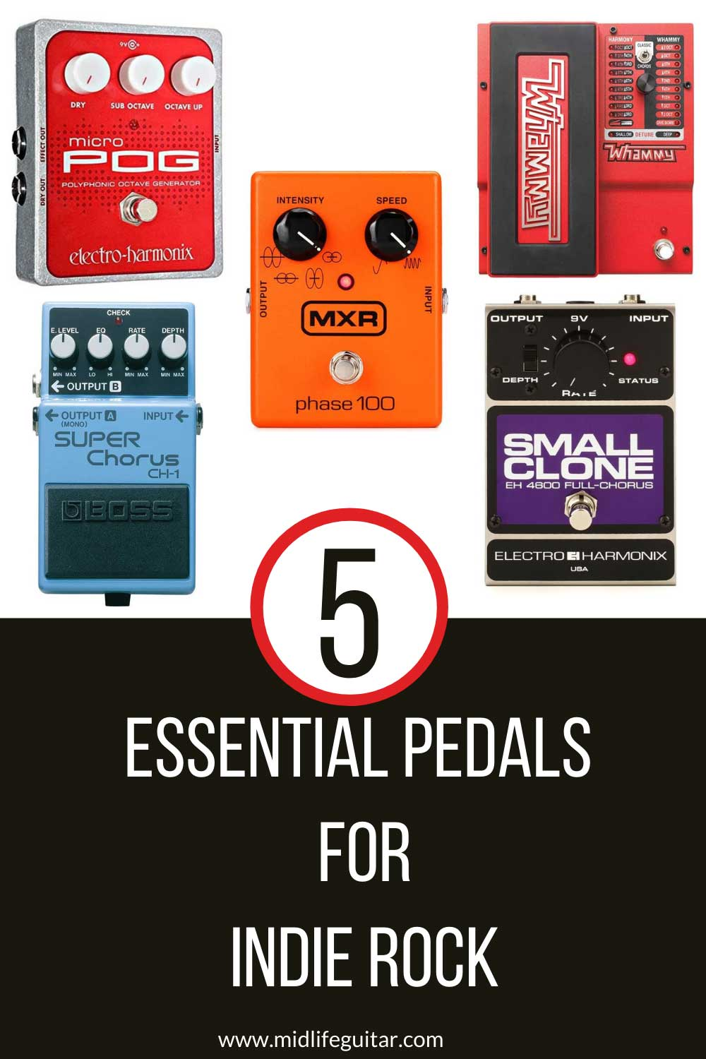 Essential Pedals For Indie Rock