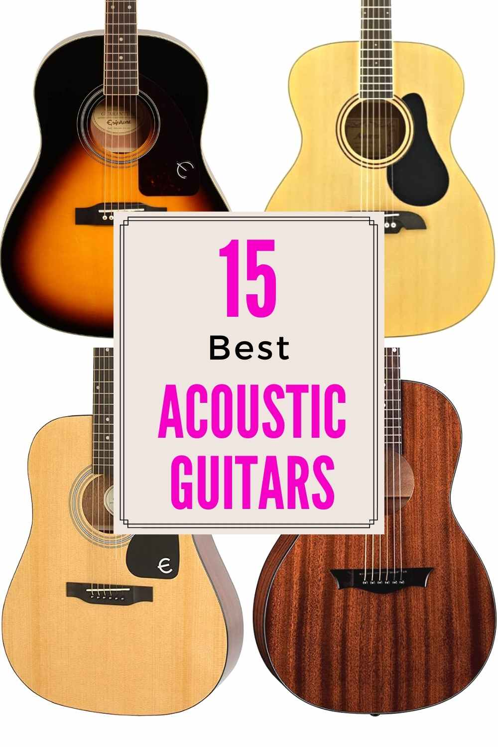 Best Acoustic guitars in the market today