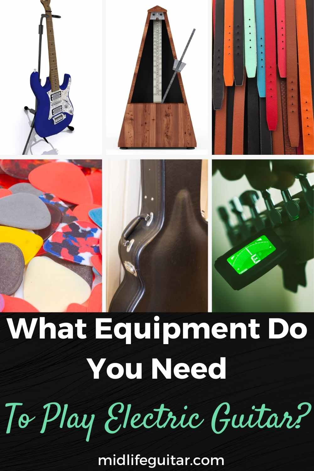 What equipment do you need to play electric guitar?
