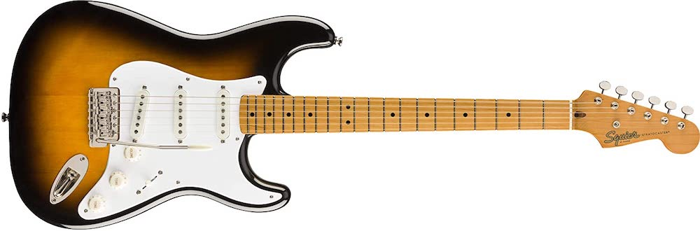 Full Size Squier Classic Vibe 50's Stratocaster Electric Guitar